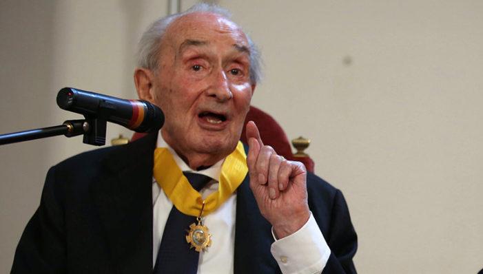 L'Università piange Giovanni Sartori, politologo. Ricevette la laurea ad honorem a Urbino
