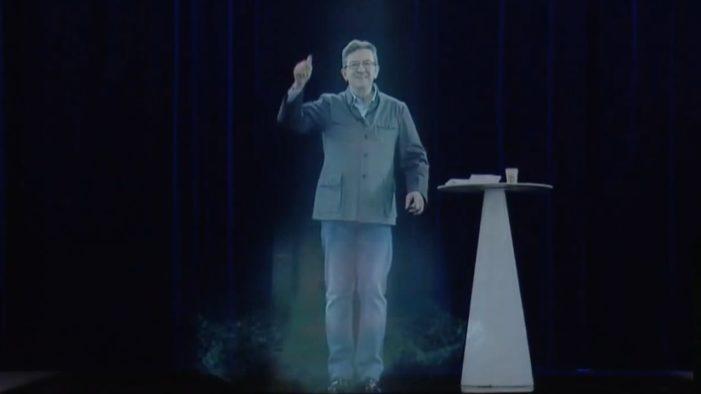 Il candidato ologramma. Mélenchon e il sogno dell'ubiquità (e dell'immortalità)
