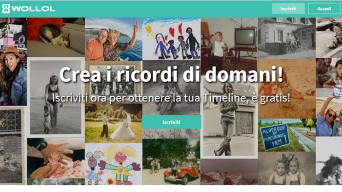 Nasce Wollol, il social network italiano che porta online l'album dei ricordi