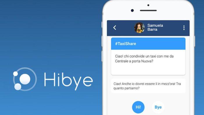 Hibye, il social network che fa incontrare le persone