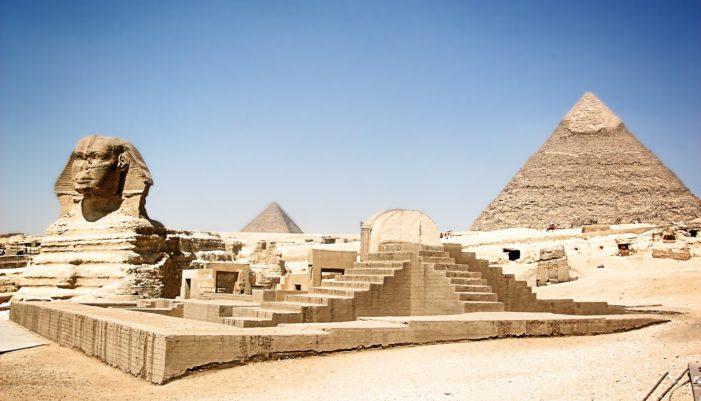 Scoperta una misteriosa cavità nella piramide di Cheope